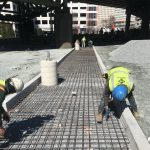TDU Concrete Exterior Work