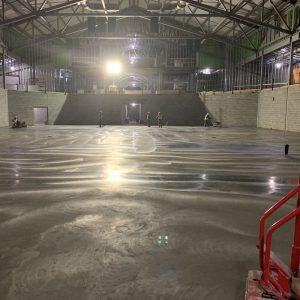 TDU Concrete slab